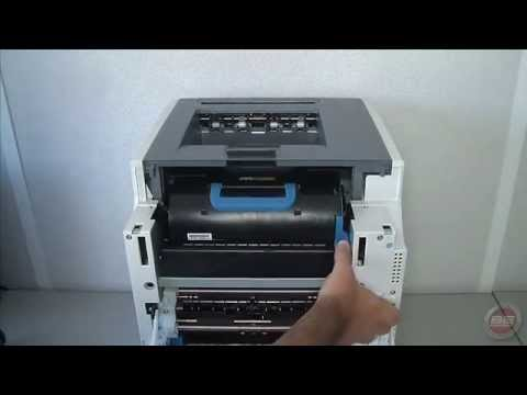 Oki C9500dxnColorSignage Replacement Instructions