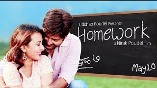 "New Nepali Movie Song - ""Homework"" Harayain ma Timro 