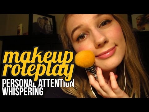 [ASMR] Makeup Roleplay (for all genders, personal attention, whispering)