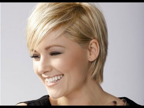 Short Bob Hairstyles for Fine Blonde Hair - YouTube