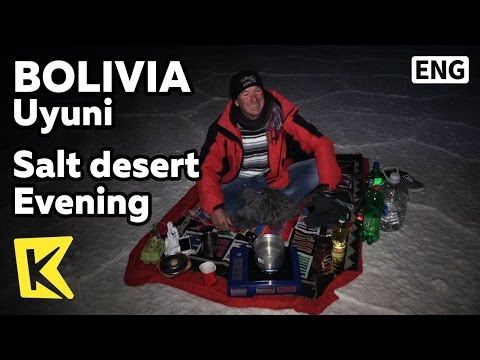 【K】Bolivia Travel-Uyuni[볼리비아 여행-우유니]자유 여행객과 밤하늘/Evening/Traveler/Tourist/Star/Sky