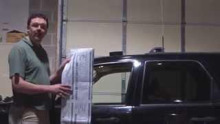 Temporaly Fixing Broken Side Window