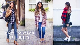How To Wear Plaid Thumbnail
