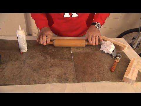 """HouseSmarts Fix It in 15:00 """"Fixing Torn Vinyl Flooring"""" Episode 158"""