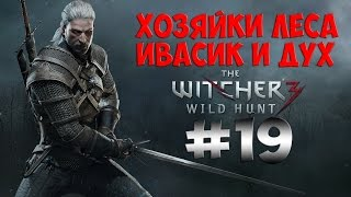 The Witcher 3 Wild Hunt. Прохождение. Часть 19 (Жена барона, Ивасик, дух и хозяйки леса) 60fps