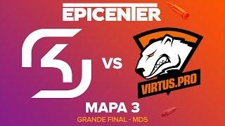 EPICENTER 2017 - SK Gaming vs. Virtus.Pro (Mapa 3 - Train) - Narração PT-BR