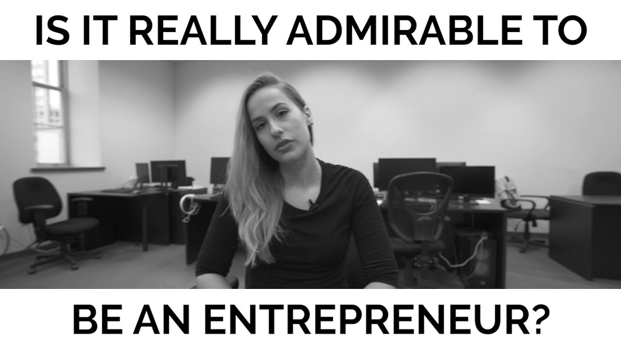 Entreprenuers Are Weak