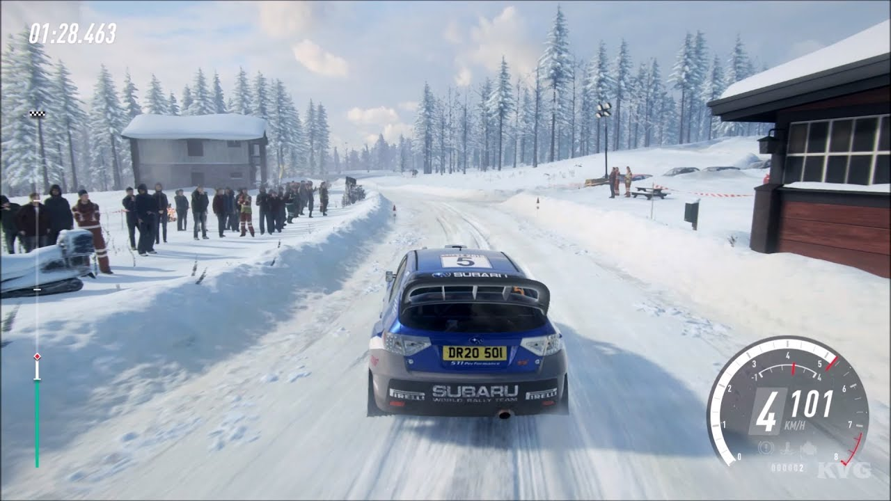 DiRT Rally 2.0 - Subaru Impreza Gameplay (PC HD) [1080p60FPS]