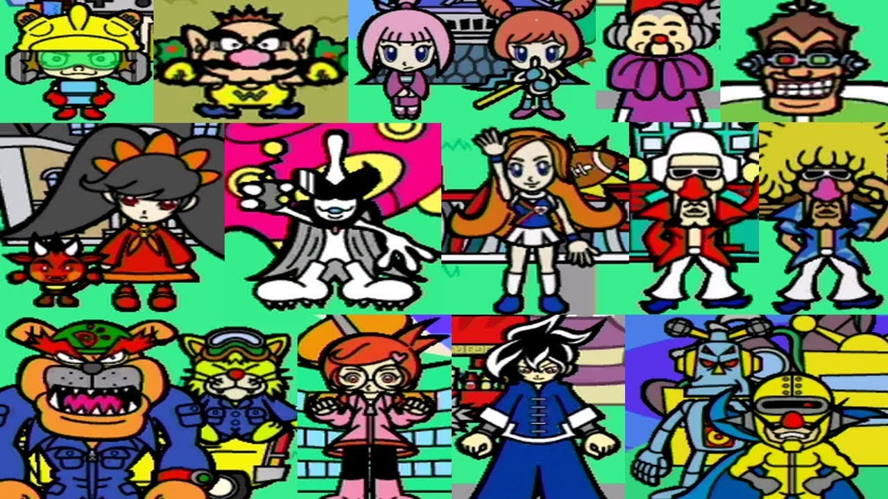 WarioWare: Smooth Moves - Full Story Mode Walkthrough (All Characters)