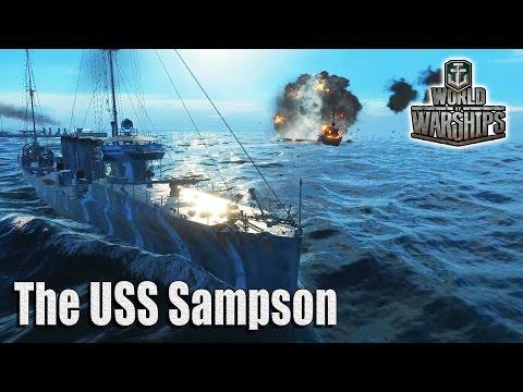 World of Warships: USS Sampson
