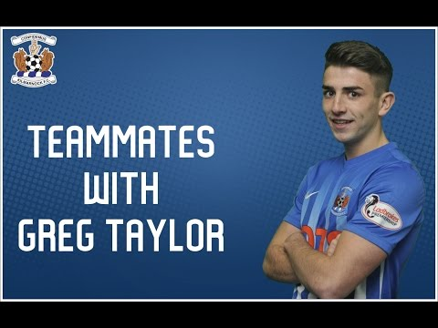 TEAMMATES: Greg Taylor