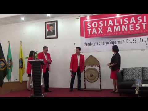 Seminar Sosialisasi Tax Amnesty - Dari UTA'45 Jakarta untuk Indonesia