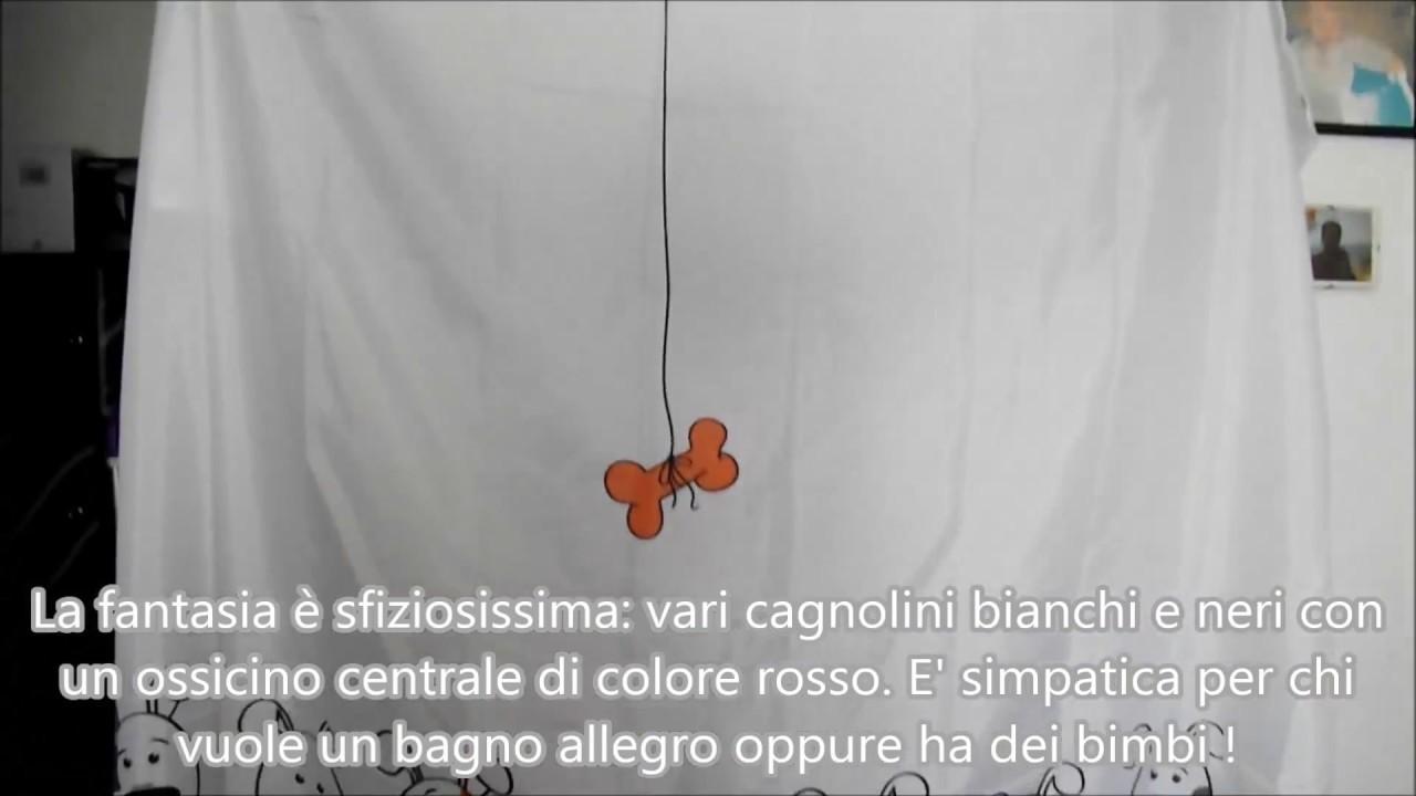 Tende Da Doccia In Lino : Tenda da doccia vasca 180 cm con 12 anelli impermeabile cani