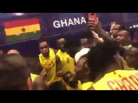 Ghana Black Stars In Massive Jama Singing Ahead Of 2019 AFCON Matches
