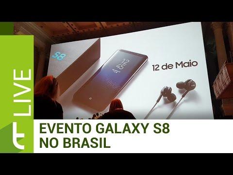 Evento de lançamento dos novos Galaxy S8 E S8 Plus no Brasil | LIVE do TudoCelular