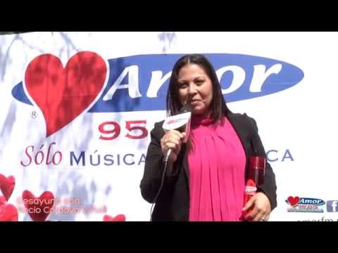 Desayuno con Rocío Córdova y Yuri -  Amor 95 3 Sólo Música Romántica.