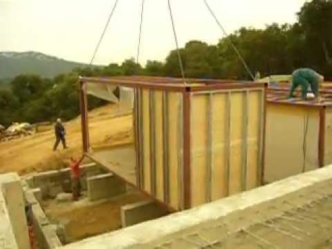 Modular house construction part 1