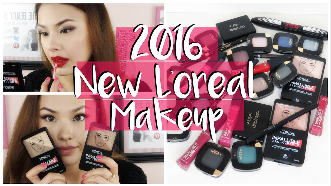 New L'oreal Spring 2016 Drugstore Makeup Haul and Review! The Beauty Breakdown - YouTube