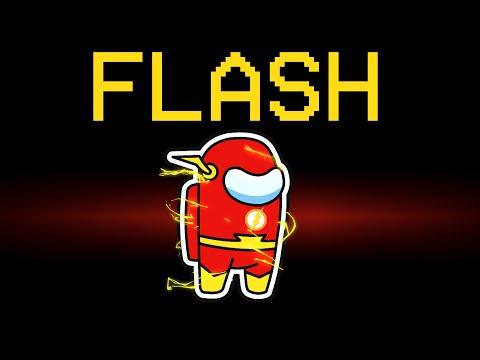 among us new FLASH impostor role (mod)