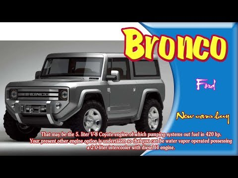 ford bronco |  ford bronco announcement |  ford bronco rampage | new cars buy