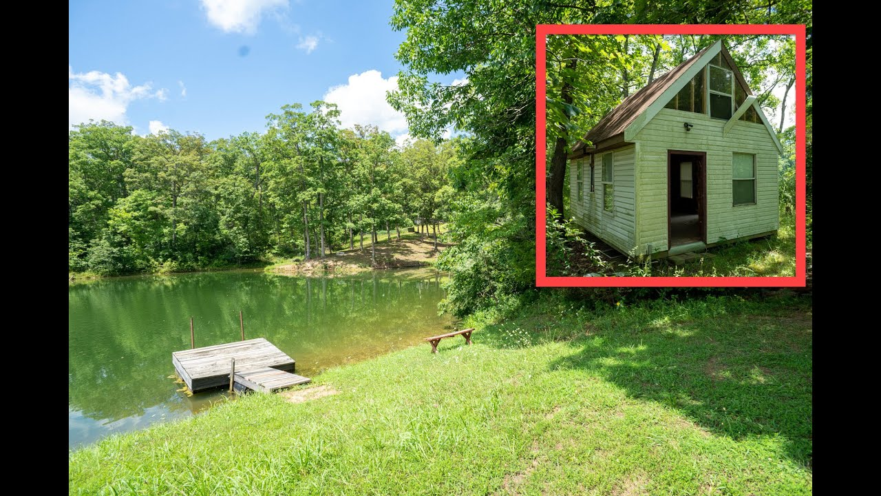 Missouri Lakefront Cabin For Sale by Owner | Cheap + Secluded | FIBER INTERNET