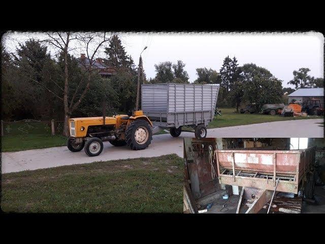 Remont modernizacja i rozbudowa rozrzutnika na przyczepe do kukurydzy