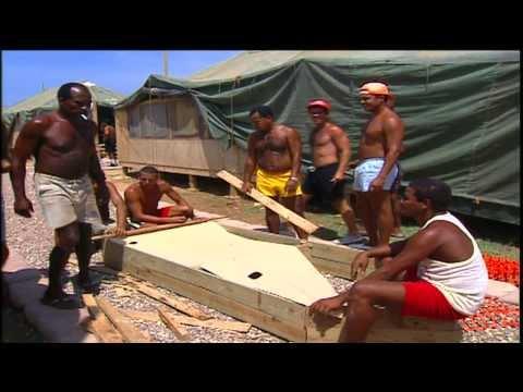Balseros Cubanos en Guantanamo 1995