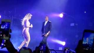 Beyonce DRUNK IN LOVE ft Jay Z + Cutest kiss at the end