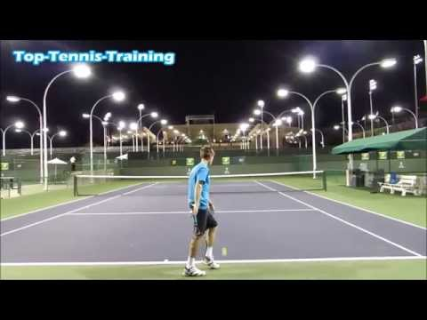 Serve Training | Indian Wells 2015