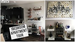APARTMENT TOUR 2017 | SEATTLE ONE BEDROOM APARTMENT + HOME DECOR IDEAS