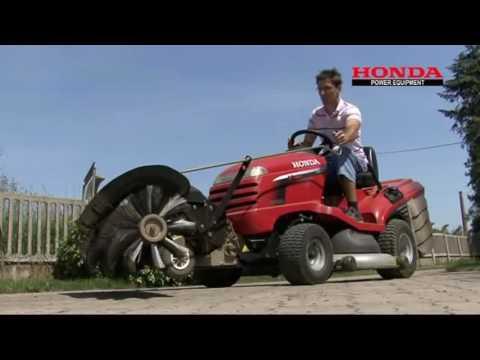 zahradn traktor honda hf 2620 hme youtube. Black Bedroom Furniture Sets. Home Design Ideas