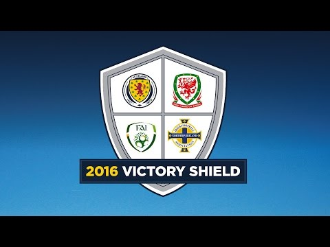 LIVE! Republic of Ireland v Northern Ireland  l Victory Shield 2016