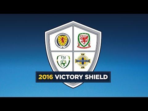 LIVE! Republic of Ireland v Northern Ireland  l Victory Shield 2016