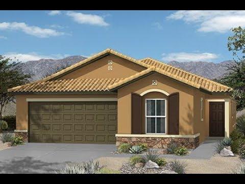 Single-Story (4) bedroom w/ Den KB HOME, MyHeaven Model Tour, Plan 1849, Las Vegas
