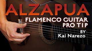 Refine your flamenco guitar alzapua technique - Kai Narezo Pro Tip