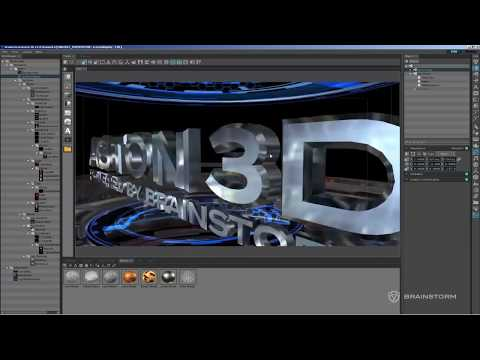 Real-Time 3D graphics creation: Aston3D overview