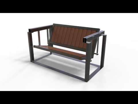Porch Swing idea animation (Desert Alchemy Design)
