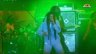 "JULIAN MARLEY  "" Boom Draw  ""   Live @  Reggaeland Płock 2010"