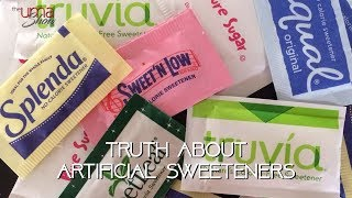 The Truth Behind Artificial Sweeteners