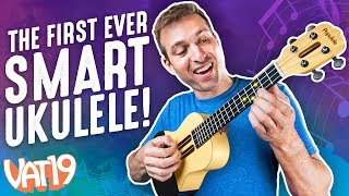 this ukulele teaches you how to play itself