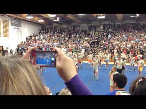 Arapahoe High School Guy Cheers 2014
