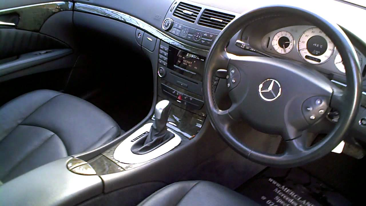 2006 06 mercedes e280 cdi avantgarde saloon 3 0 v6 diesel youtube. Black Bedroom Furniture Sets. Home Design Ideas