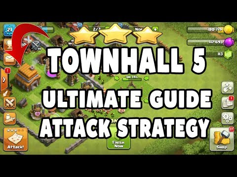 Th5 Attack Strategy | Town Hall 5 Upgrade Guide For Fast Upgrade | Get Big Loot Everytime | In HINDI