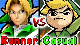 Casual VS Speedrun - Water Temple (Zelda Ocarina Of Time)