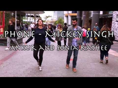 Phone - Mickey Singh Choreography | Universal Studios | Sonia and Ankur Rathee