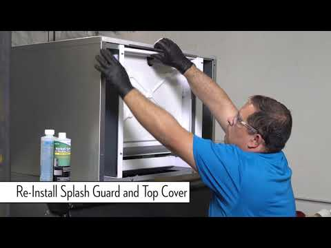 Ice-O-Matic Elevation Series De-Scaling and Sanitizing