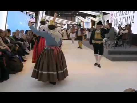 Fandango de a Tres (Grup Danses Sant Vicent Ferrer Altar Rusafa-Fitur 2017)