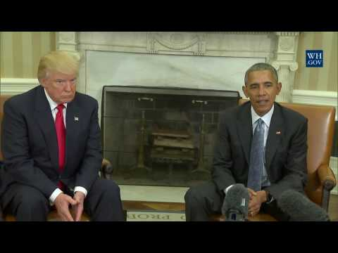 Thumbnail: President Obama Meets With President-Elect Trump