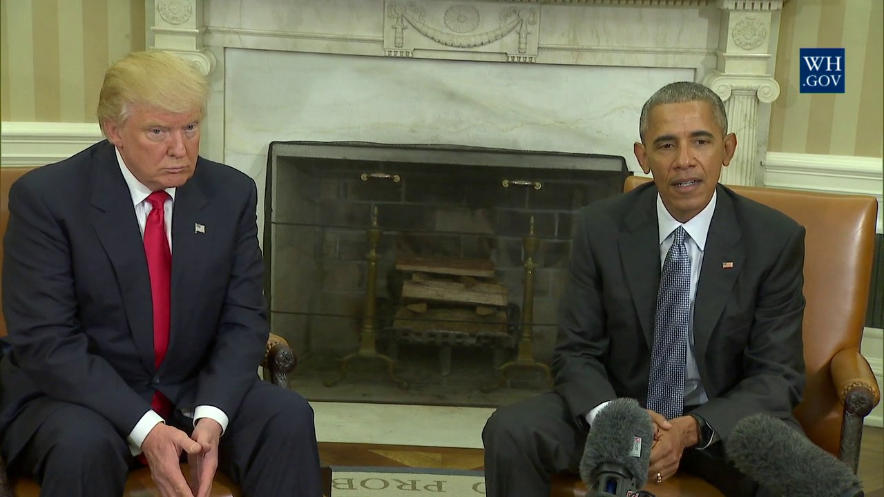Download President Obama Meets With President-Elect Trump