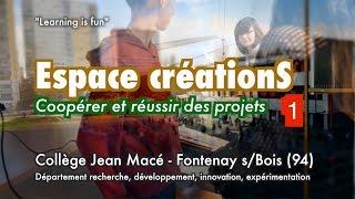 Espace créations, coopérer et réussir des projets (1)  #eduinov